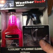 WeatherTech TechCar Floor Liner Cleaner