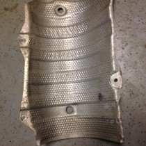 Gen II Prius Muffler Heat Shield