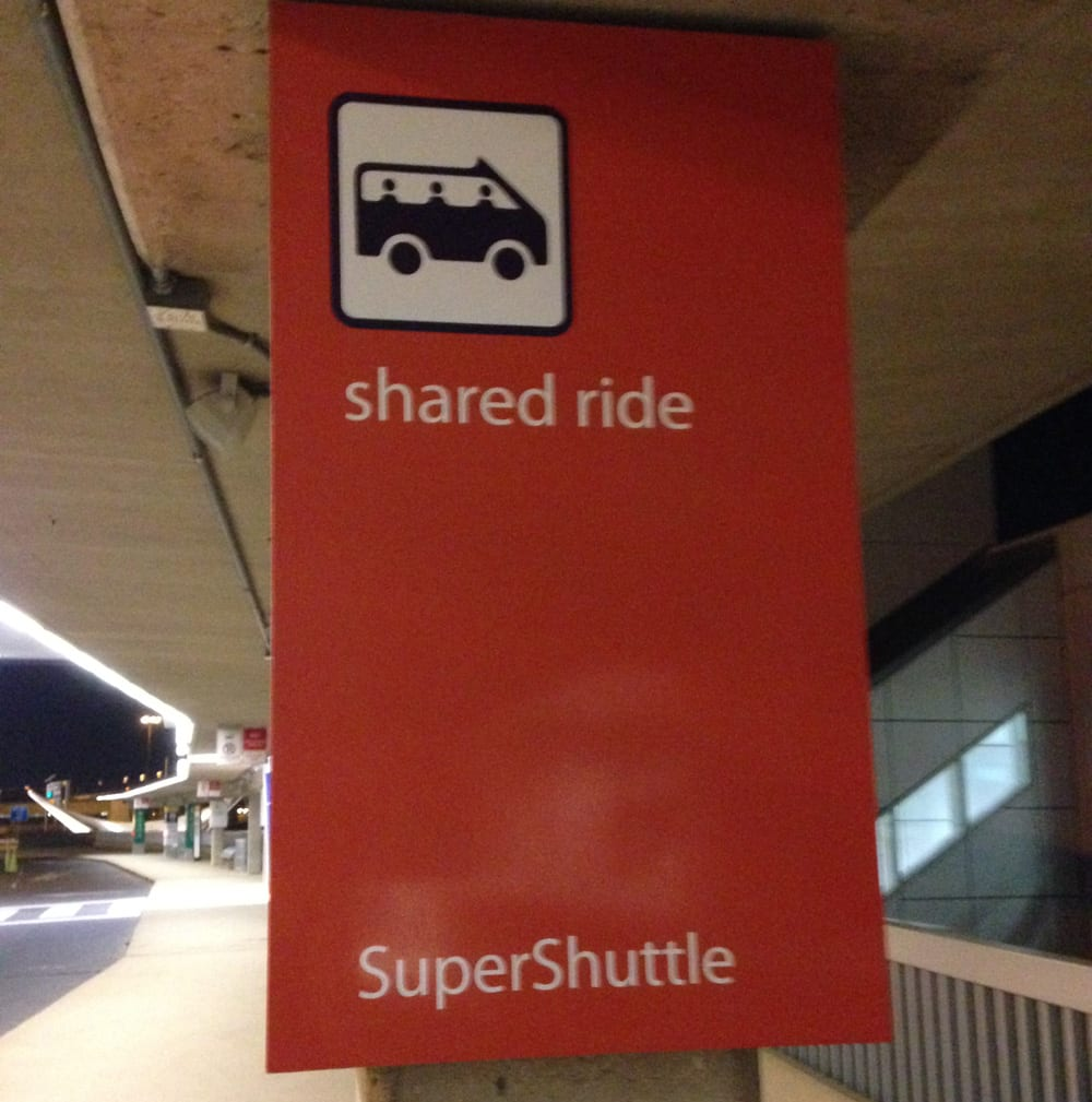 Super Shuttle Pickup Location DFW